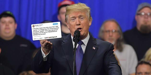 Ce faux tweet de Trump sur la chute de la bourse est ridicule... mais presque tout le monde y a cru