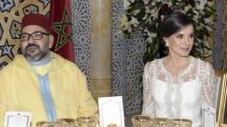 La comentada reacción del rey de Marruecos cuando Letizia sintió