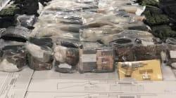 📷 El narco se queda sin armas: decomisan arsenal en un tráiler en