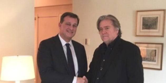 Steve Banon en Europe pour créer une internationale populiste