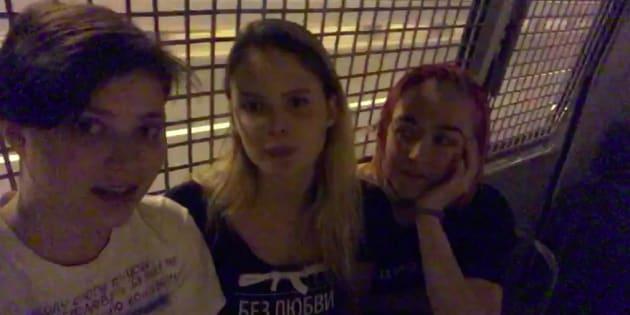 À peine libérées, des membres du groupe de nouveau arrêtées — Pussy Riot