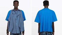 Balenciaga Is Selling A Shirt With A Shirt Attached To It For R16
