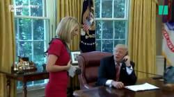 Les remarques sexistes de Trump à une journaliste