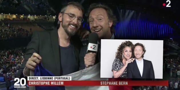 Eurovision 2018: Ils ne savaient pas que Christophe Willem avait remplacé Marianne James et ils ont mis longtemps à s'en rendre compte