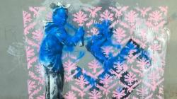 Une des nouvelles œuvres attribuées à Banksy à Paris déjà