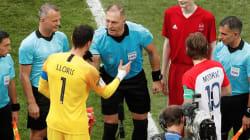 El árbitro de la final entre Croacia y Francia hizo el chiste más político de todo Rusia