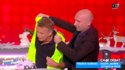 À TPMP, Franck Dubosc enfile un gilet jaune et propose d'être