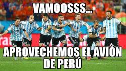 Los memes también le dicen adiós a Argentina tras perder contra
