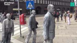 À Hambourg, un millier de