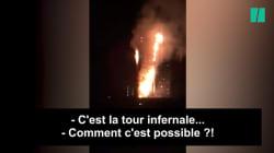 Les commentaires des pompiers en route pour la Grenfell Tower sont sans
