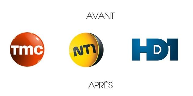 HD1 et NT1 deviendront TF1 Séries Films et TFX fin janvier
