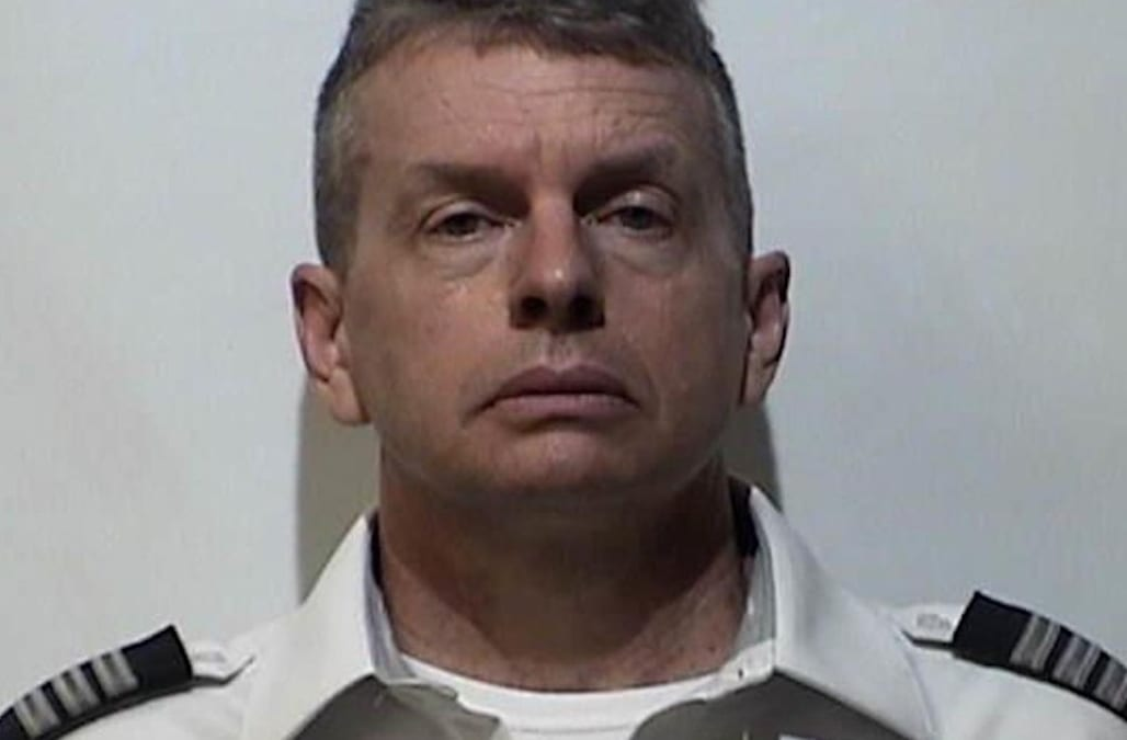 An American Airlines pilot was arrested at Louisville airport after