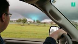 En plein ouragan Harvey, d'étranges tornades frappent le