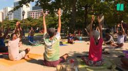 Dans ces cours de yoga, vous ne croiserez aucune instagrameuse et c'est tant