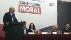 """Constitución Moral fortalecerá el """"bienestar del alma"""":"""