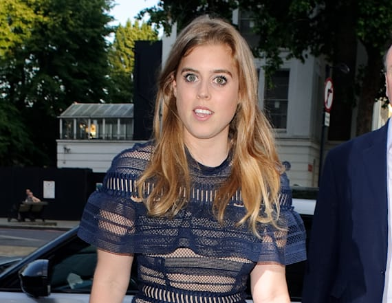 Princess Beatrice's sexy dress gets people talking