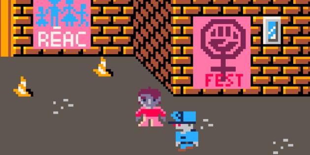 Le jeu vidéo Dykie Street veut vous aider à reprendre le pouvoir dans la rue de manière non-violente.