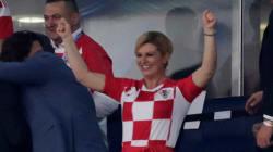 La présidente croate donne rendez-vous à Macron dimanche à Moscou et c'est un bon