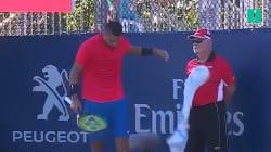 L'erreur de ce tennisman lui a valu un bide