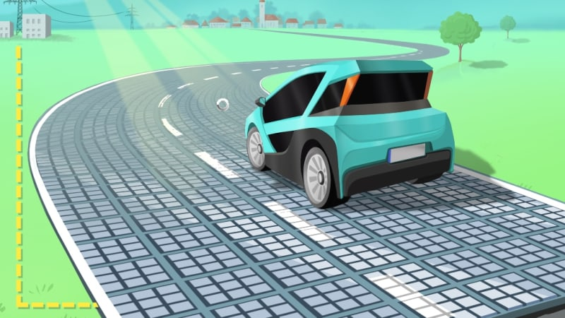 Solmove the latest to see solar roads as an energy source