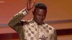 Aux BET Awards, Mamoudou Gassama a été récompensé pour son