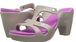 High-Heeled Crocs Exist, And People Aren't Sure What To Make Of