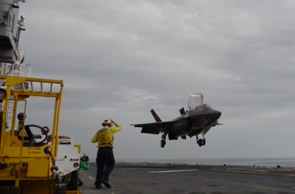 Pentagon's head tester has concerns over F-35 fighter jet