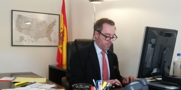 El hasta ahora cónsul de España en EEUU, Enrique Sardà Valls.