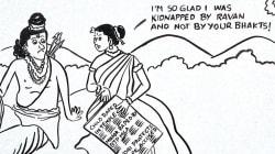 Menacée de mort après un dessin sur le viol en Inde, l'auteure de cette caricature en sort