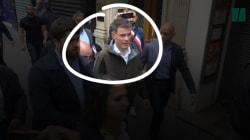 Le patron du PS hué et écarté de la manifestation des