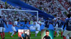 On a demandé à deux pro-gamers de jouer France - Pérou sur FIFA