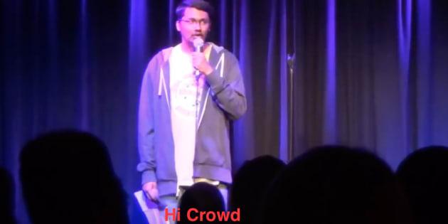 Stand-up comedians get nervous too.
