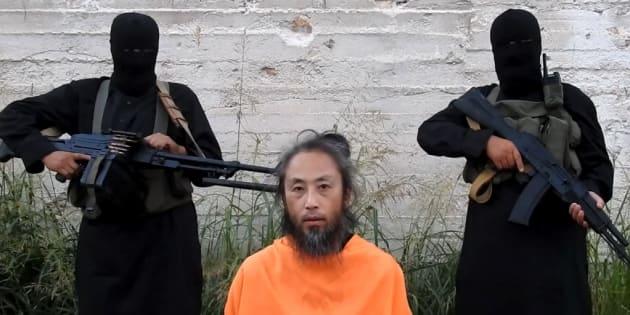 7月30日に公開された安田純平さんと思われる男性の映像