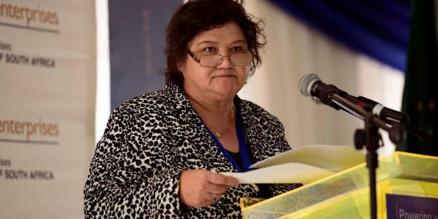 Public enterprises minister Lynne Brown.