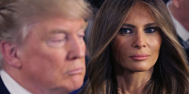 Melania Trump inaugura il Natale alla Casa Bianca