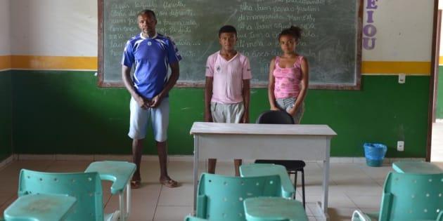 Centro de ensino em comunidade quilombola no Maranhão passa por dificuldades.