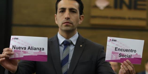 La Comisión de Fiscalización del INE realizó un sorteo para interventores que seguirán la cancelación de los Partidos Encuentro Social y Partido Nueva Alianza.