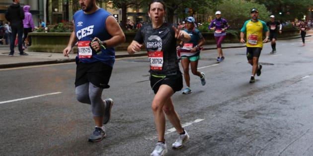 Maratón de Chicago. 2018. Laura Manzo