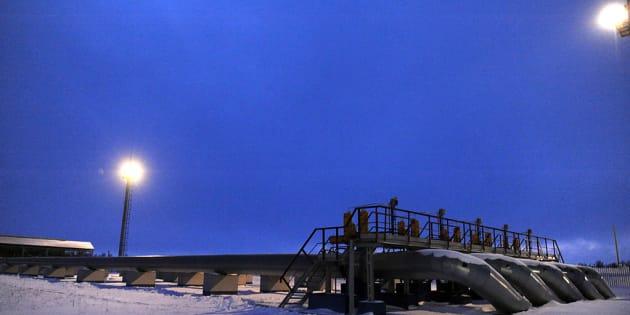 Tuberías de gas en Rusia