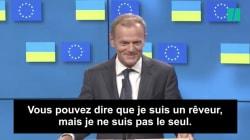Donald Tusk a-t-il voulu prendre les Britanniques par les sentiments sur le Brexit en citant cette