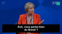 Theresa May a passé un sale quart d'heure face à ce