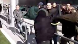 Enfrentamientos entre simpatizantes de Vox y 'antifascistas' en L'Hospitalet de