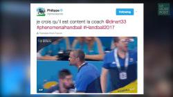 Sur Twitter, le héros de la finale de handball c'était