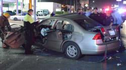 VIDEO: Así fue captado un fatal accidente vial por cámara de