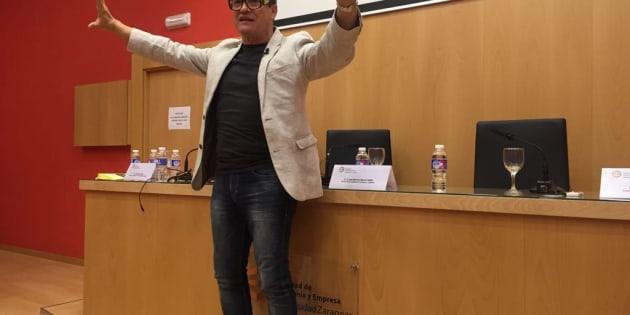 Conferencia 'La Palabra Mágica' en la Universidad de Zaragoza 2017