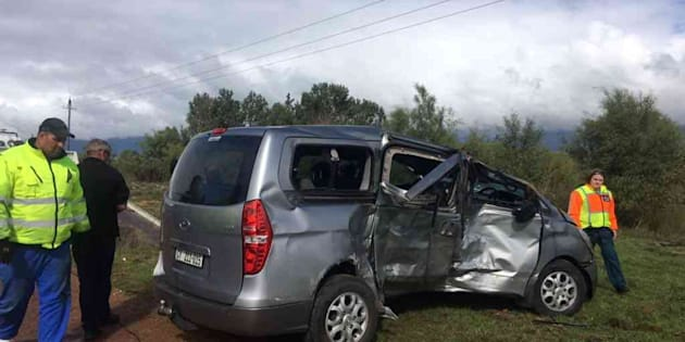 The car involved in the crash that claimed the life of an ANC MP.
