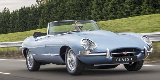 Retour vers le futur avec la Jaguar E-Type Zero