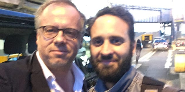 Le journaliste français Mathias Depardon de retour en France