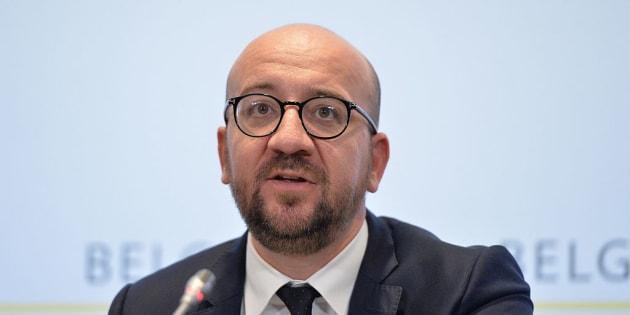 Charles Michel, primer ministro de Bélgica.