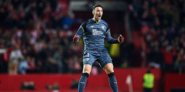 Sergio Rico, portero del Sevilla FC.